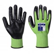 Portwest A645 Green Cut 5 - Nitrile Foam