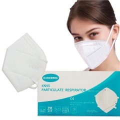 Kangerda KN95 Particulate Respirator Face Mask Box of 30