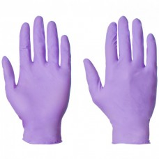 Supertouch G8051 Purple Powder Free Nitrile Disposable Glove (Box/100)
