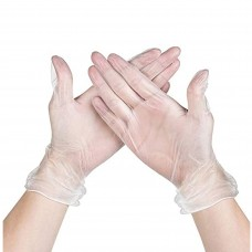 Safecare G8068 Clear Vinyl Powder Free Disposable Gloves
