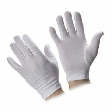 Supertouch G2033-07 Ladies White Stretch Nylon Glove