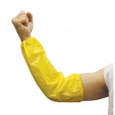 "D1033 Disposable Polypropylene 15"" Sleeve Pair / Yellow"