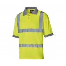 Dickies SA22075 Hi-Vis Safety Polo Shirt