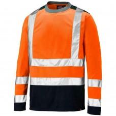 Dickies SA22082 Long Sleeve Two Tone Hi-Vis T-Shirt