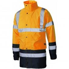 Dickies SA7004 High Visibility Two Tone Parka Jacket