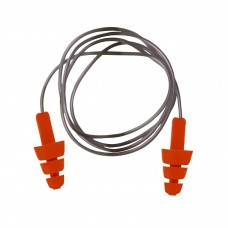 Portwest EP04 Reusable TPE Corded Ear Plug (Box of 50 pairs)