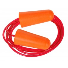 EP08 Corded PU Foam Ear Plug (Box of 200 pairs)