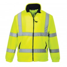 F300 Portwest Hi-Vis Mesh Lined Fleece