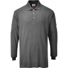 FR10 Flame Retardant Anti-Static Long Sleeve Polo Shirt - Customise