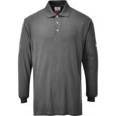 FR10 Flame Retardant Anti-Static Long Sleeve Polo Shirt - Customise
