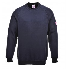 FR12 Flame-Retardant Anti-Static Long Sleeve Sweatshirt - Customise