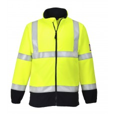 FR31 FR Anti Static Hi Vis Fleece - Customise
