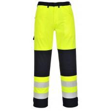 Portwest FR62 Hi-Vis Multi-Norm Trouser