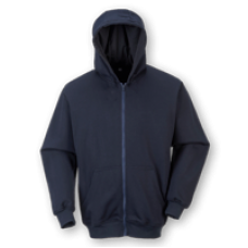 FR81 Portwest FR Zip Front Hooded Sweatshirt