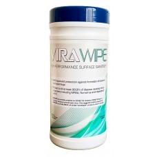 Fentex Virawipe AVW80 Antiviral Hard Surface Wipe Tub/80