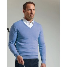 GM22 Glenmuir Cotton V Neck Sweater