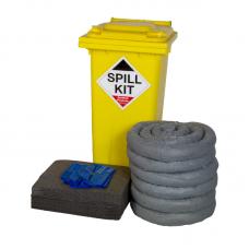 Fentex GSK120 General Purpose Spill Kit 120L Wheelie Bin