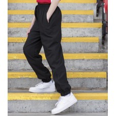 LV839 Kids Lined Cuffed Microfibre Trackpant