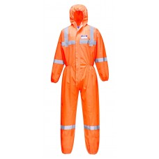 Portwest ST36 VisTex Coverall SMS (Boxes/50)