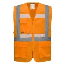 Portwest G456 Glowtex Ezee Zip Executive Vest