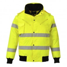 C467 Portwest Hi-Vis 3-in-1 Bomber Jacket