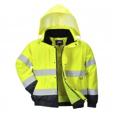 C468 Portwest Hi-Vis 2-in-1 Jacket