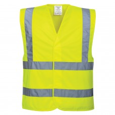 C470 Hi-Vis Two Band & Brace Vest