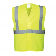 C472 Hi-Vis One Band & Brace Vest