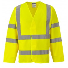C473 Portwest Hi-Vis Two Band & Brace Jacket