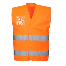 Portwest C475 Hi-Vis Vest - Duel ID Holder