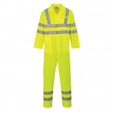 E042 Portwest Hi-Vis Poly-Cotton Coverall