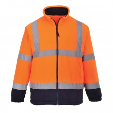 F301 Portwest Hi-Vis Two Tone Fleece