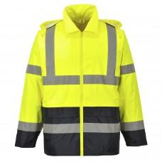 H443 Portwest Hi-Vis Classic Contrast Rain Jacket