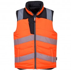 Portwest PW374 PW3 Hi-Vis Reversible Bodywarmer