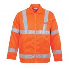 Portwest RT40 Hi-Vis Poly-Cotton Jacket, RIS