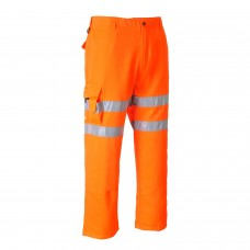 Portwest RT46 Hi-Vis Rail Combat Trouser