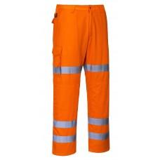 Portwest RT49 Hi-Vis Three Band Combat Trousers
