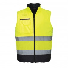Portwest S267 Hi-Vis Two Tone Bodywarmer