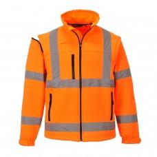 Portwest S428 Hi-Vis Softshell Jacket (3L)