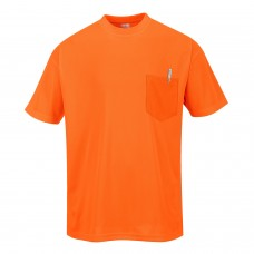 Portwest S578 Day-Vis Pocket Short Sleeve T-Shirt