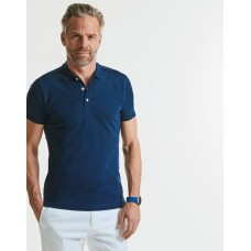Russell 566 Mens Stretch Polo