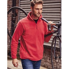 8740M Russell Quarter Zip Outdoor Fleece