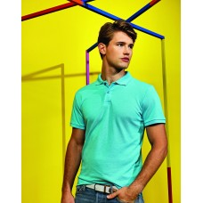 Asquith & Fox AQ006 Mens Twisted Yarn Polo Shirt