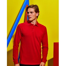 Asquith And Fox AQ030 Mens Classic Fit Long Sleeve Polo