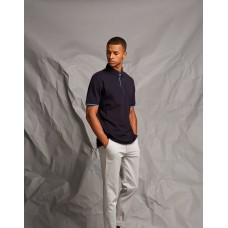Front Row & Co FR200 Contrast Pique Polo Shirt
