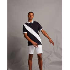 Front Row & Co FR212 Diagonal Stripe Polo Shirt