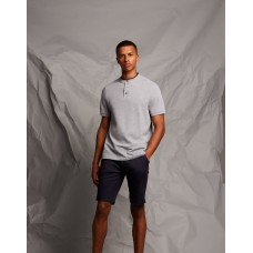 Front Row & Co FR244 Stand Collar Stretch Poloshirt