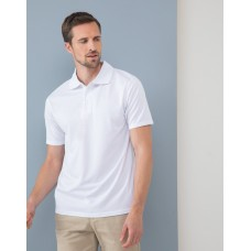 Henbury H473 Cooltouch Texured Stripe Polo Shirt