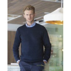 Henbury H725 Mens Lightweight Crew Neck Jumper