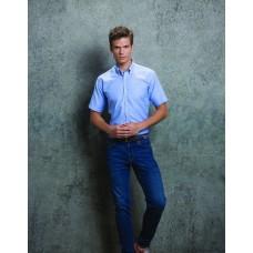 Kustom Kit KK183 Slim Fit Workwear Oxford Short Sleeve Shirt